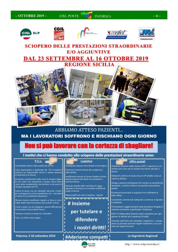 Cisl Poste Sicilia Informa ottobre 2019_Pagina_06