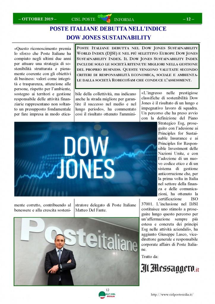 Cisl Poste Sicilia Informa ottobre 2019_Pagina_12