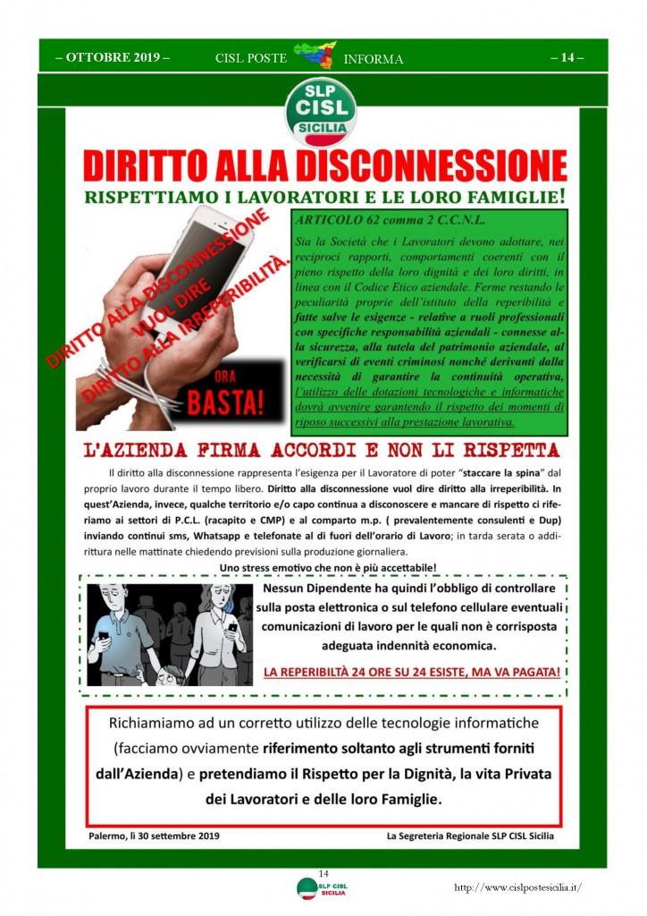 Cisl Poste Sicilia Informa ottobre 2019_Pagina_14