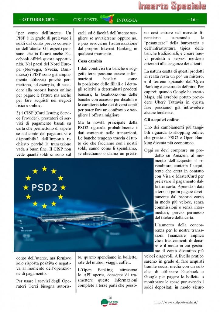 Cisl Poste Sicilia Informa ottobre 2019_Pagina_16