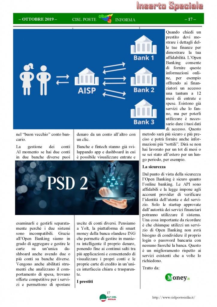 Cisl Poste Sicilia Informa ottobre 2019_Pagina_17