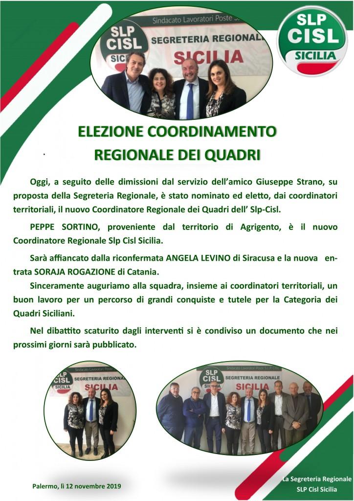 elezioni coord quadri 2019