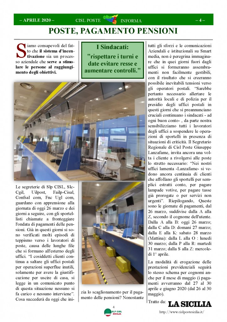 Cisl Poste Sicilia Informa Aprile 2020 _Pagina_04