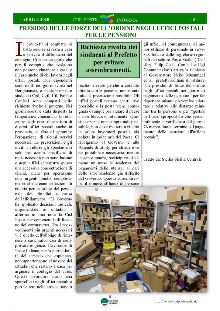 Cisl Poste Sicilia Informa Aprile 2020 _Pagina_05