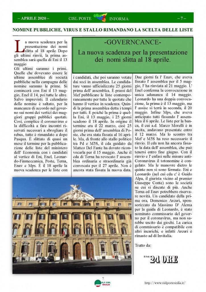 Cisl Poste Sicilia Informa Aprile 2020 _Pagina_07