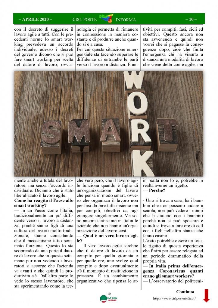 Cisl Poste Sicilia Informa Aprile 2020 _Pagina_10