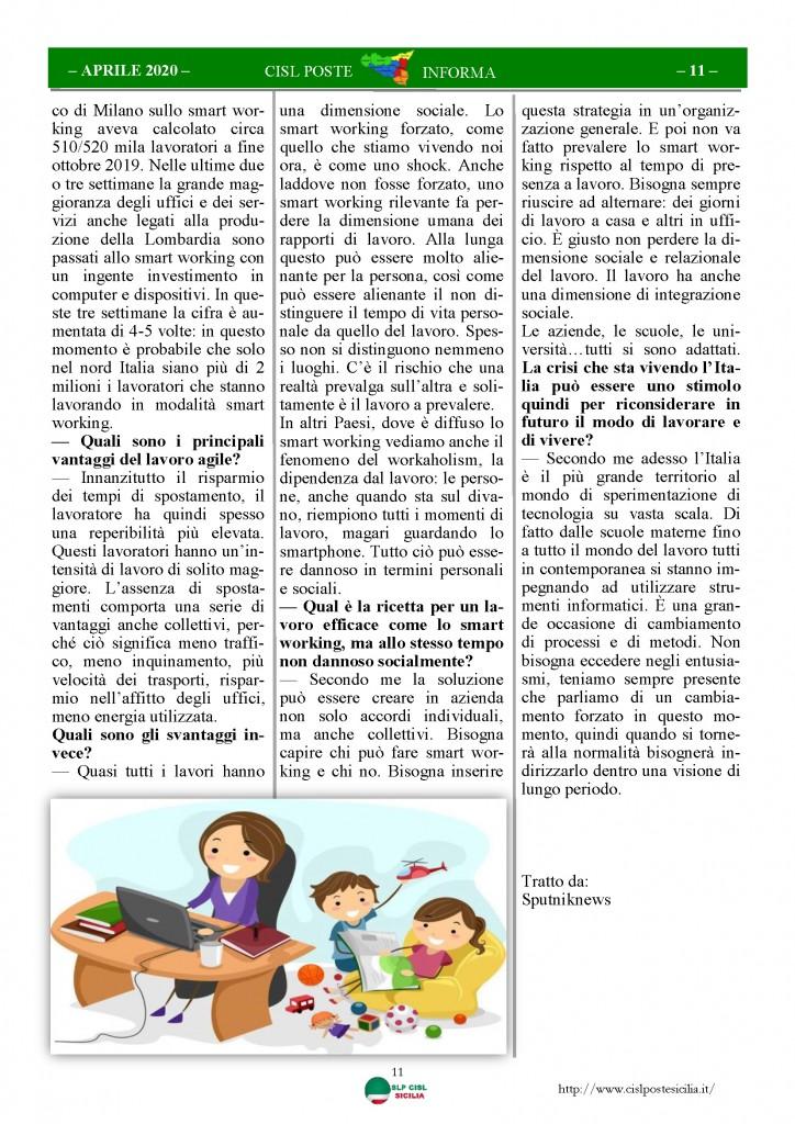 Cisl Poste Sicilia Informa Aprile 2020 _Pagina_11