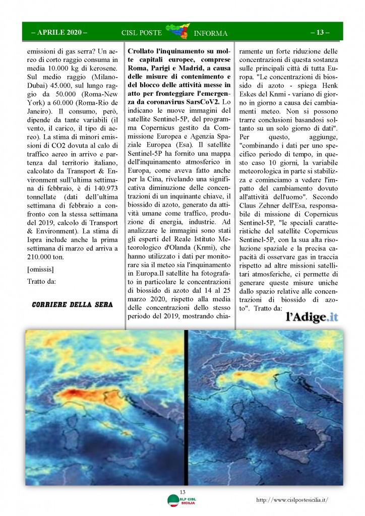 Cisl Poste Sicilia Informa Aprile 2020 _Pagina_13