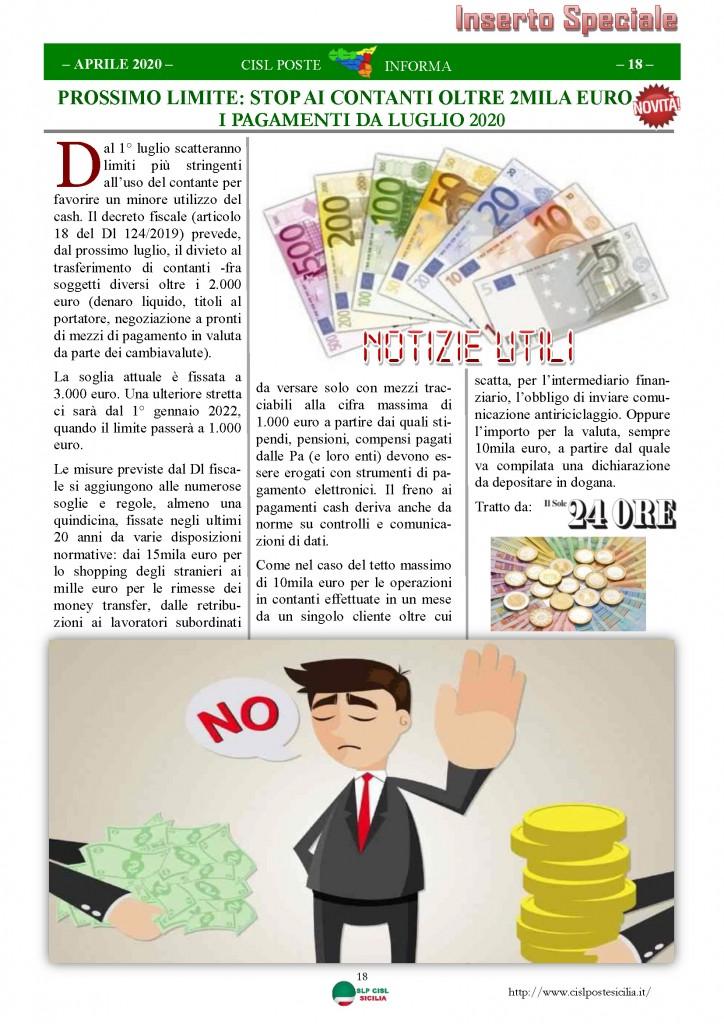 Cisl Poste Sicilia Informa Aprile 2020 _Pagina_18