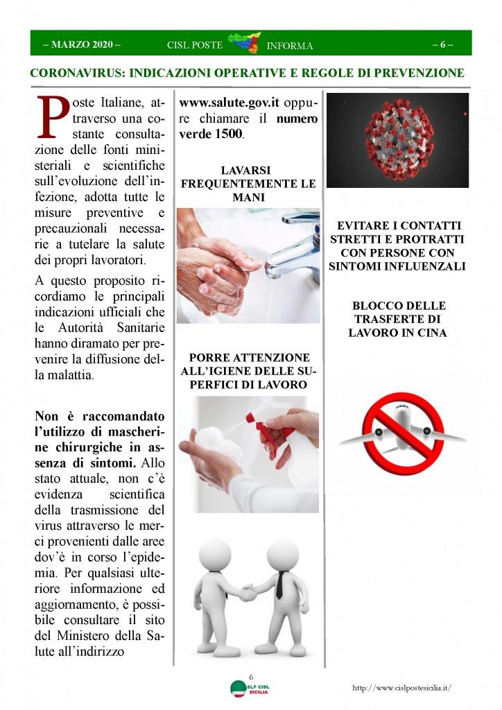 Cisl Poste Sicilia Informa Marzo 2020 _Pagina_06