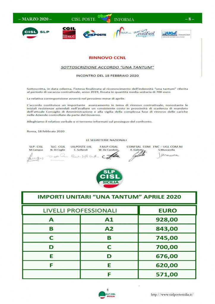 Cisl Poste Sicilia Informa Marzo 2020 _Pagina_08