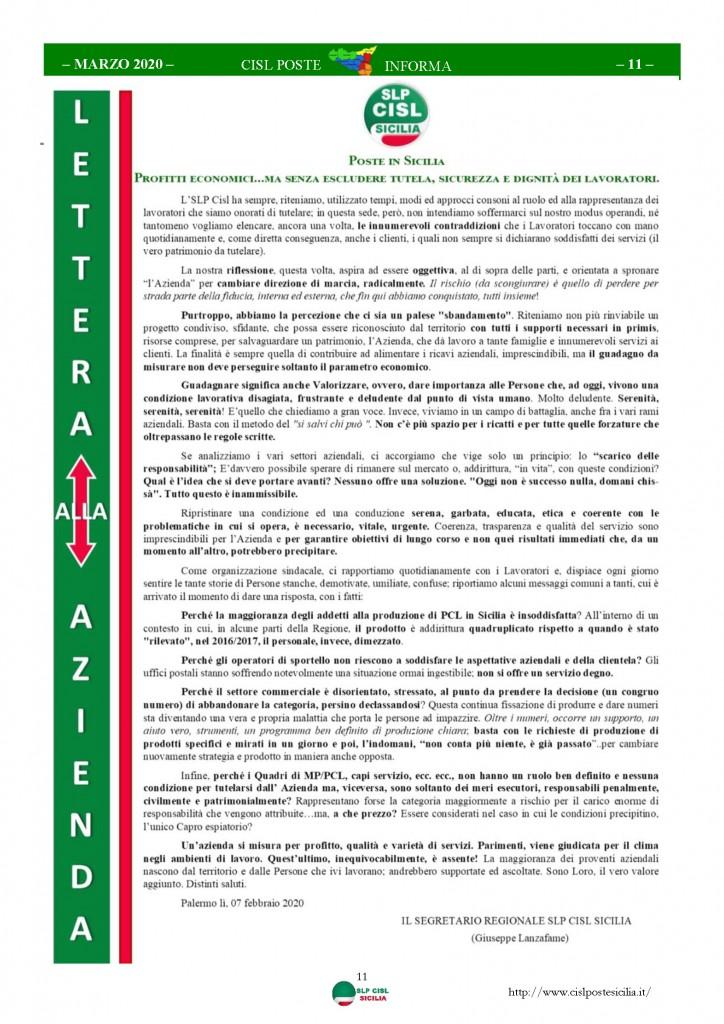 Cisl Poste Sicilia Informa Marzo 2020 _Pagina_11