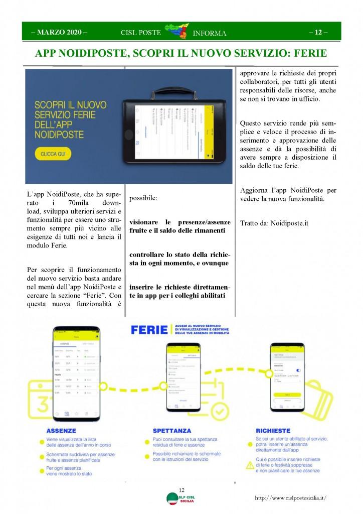 Cisl Poste Sicilia Informa Marzo 2020 _Pagina_12