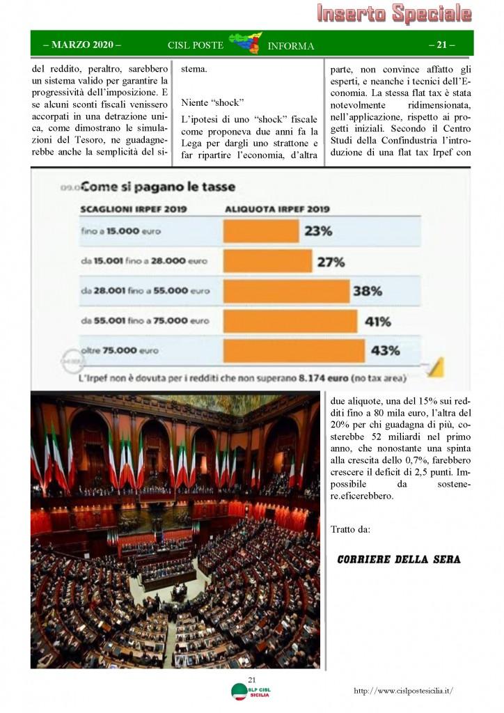 Cisl Poste Sicilia Informa Marzo 2020 _Pagina_21