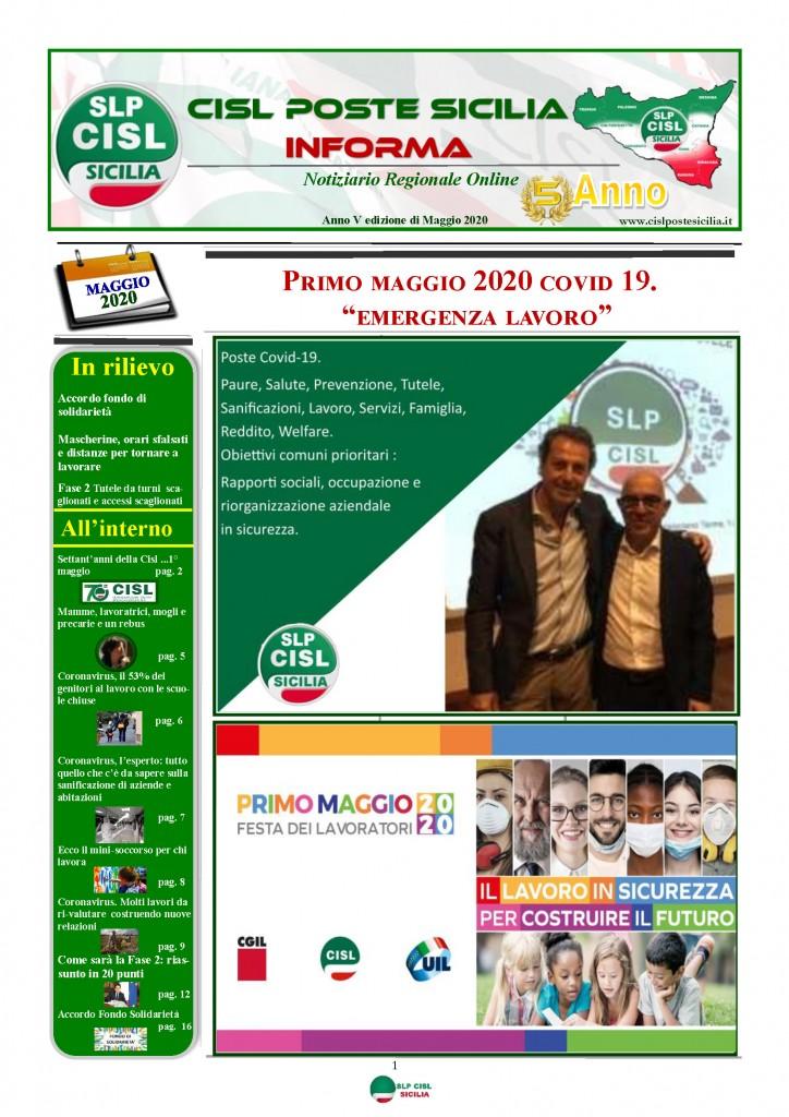 Cisl Poste Sicilia Informa Maggio 2020 _Pagina_01