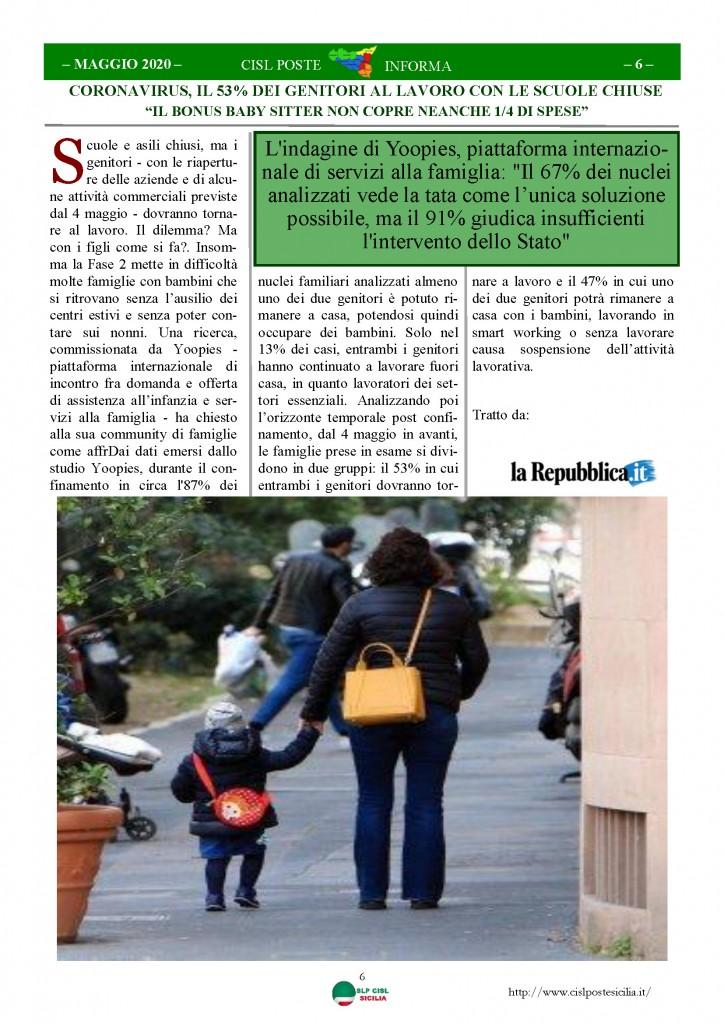 Cisl Poste Sicilia Informa Maggio 2020 _Pagina_06