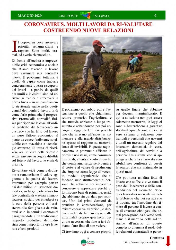 Cisl Poste Sicilia Informa Maggio 2020 _Pagina_09