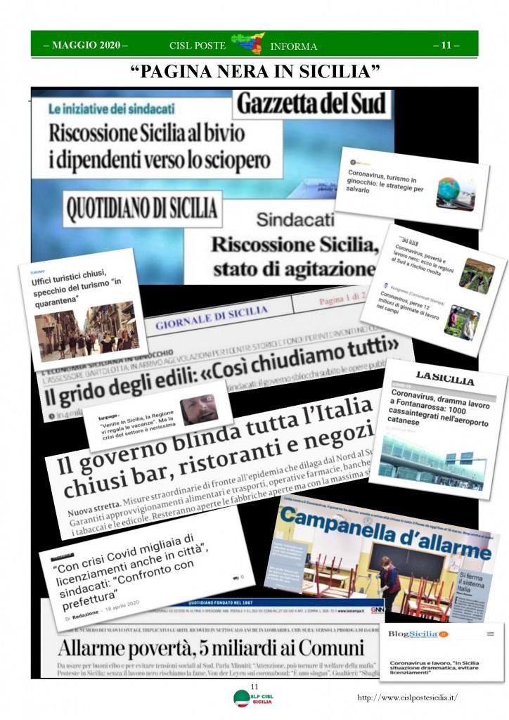 Cisl Poste Sicilia Informa Maggio 2020 _Pagina_11