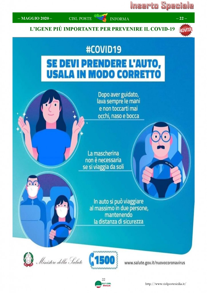 Cisl Poste Sicilia Informa Maggio 2020 _Pagina_22