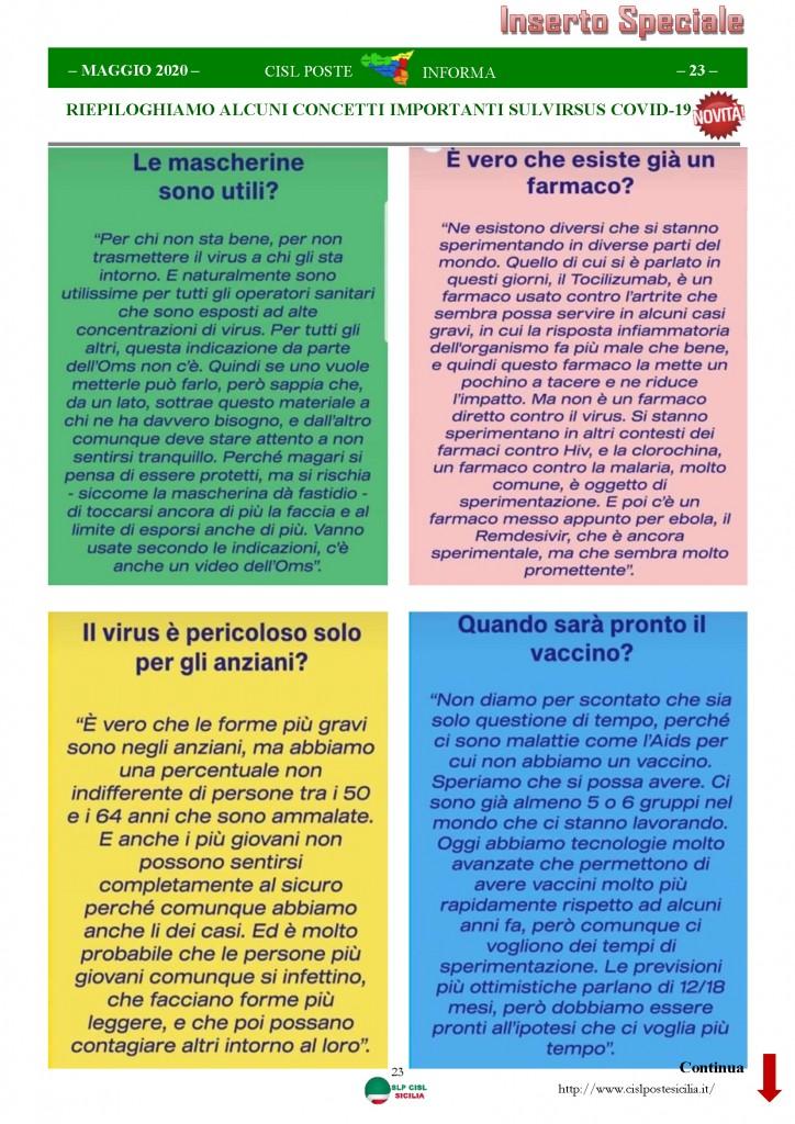 Cisl Poste Sicilia Informa Maggio 2020 _Pagina_23