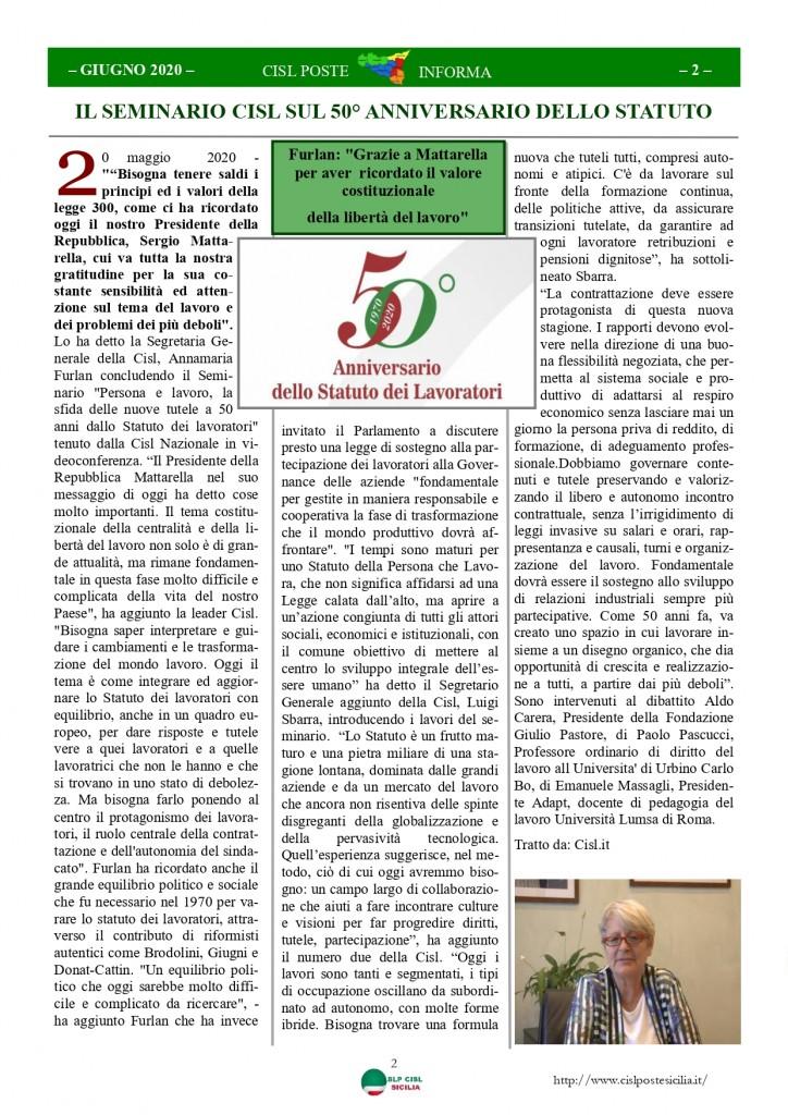 Cisl Poste Sicilia Informa Giugno 2020 _page-0002