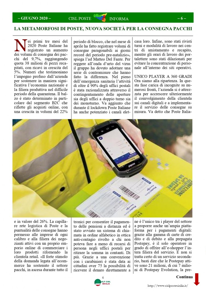 Cisl Poste Sicilia Informa Giugno 2020 _page-0006