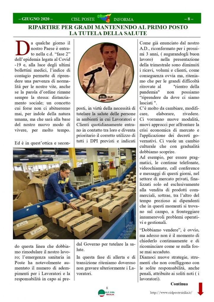 Cisl Poste Sicilia Informa Giugno 2020 _page-0008