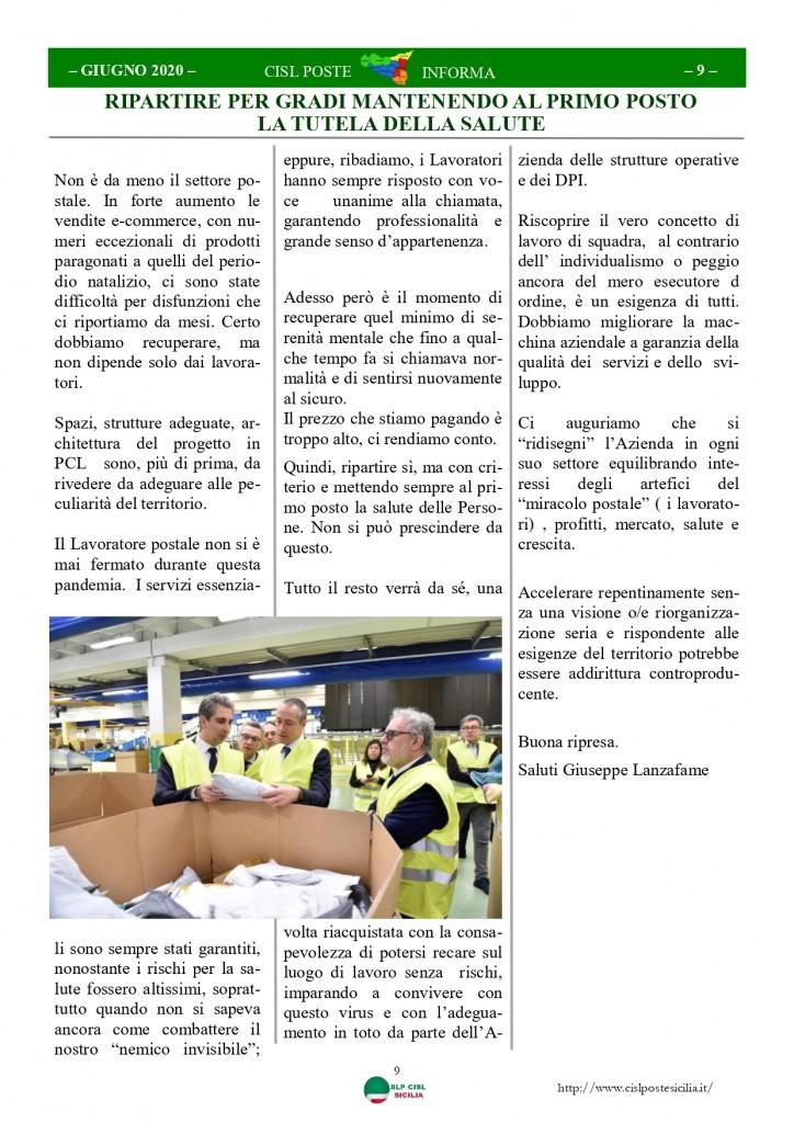 Cisl Poste Sicilia Informa Giugno 2020 _page-0009
