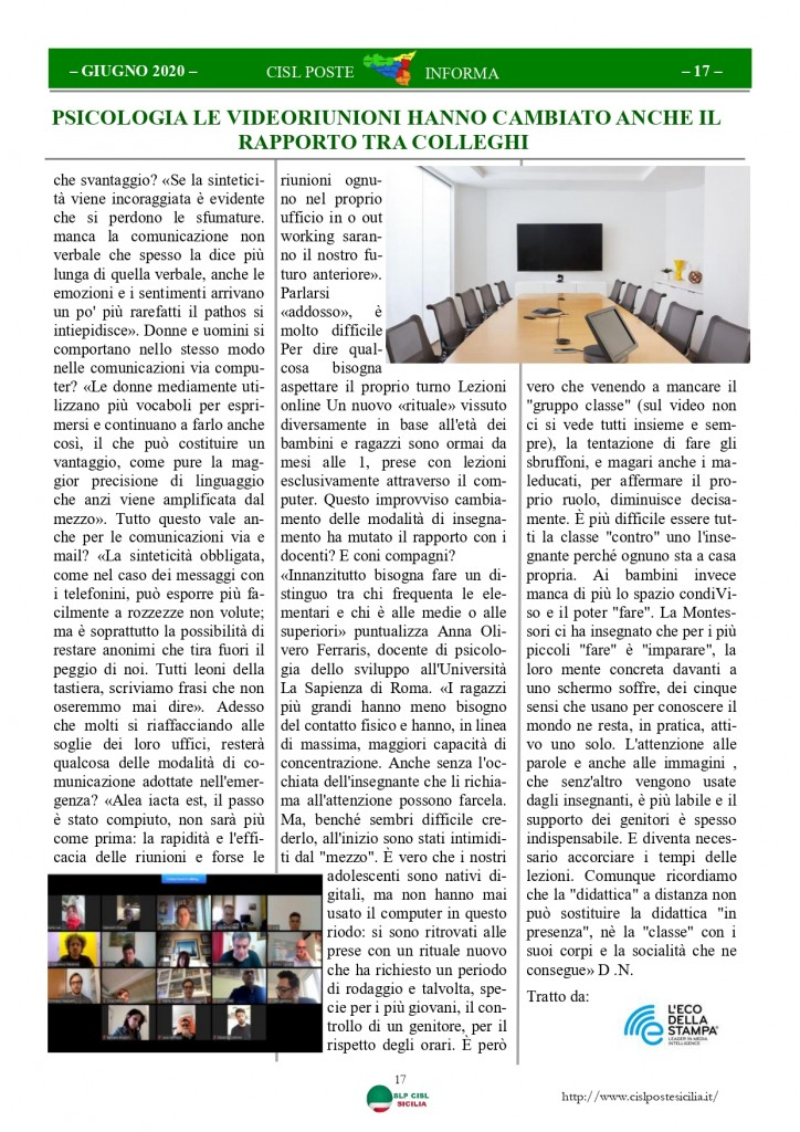 Cisl Poste Sicilia Informa Giugno 2020 _page-0017