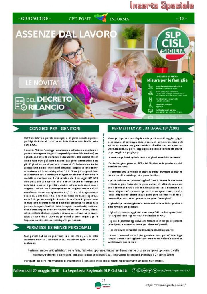 Cisl Poste Sicilia Informa Giugno 2020 _page-0023