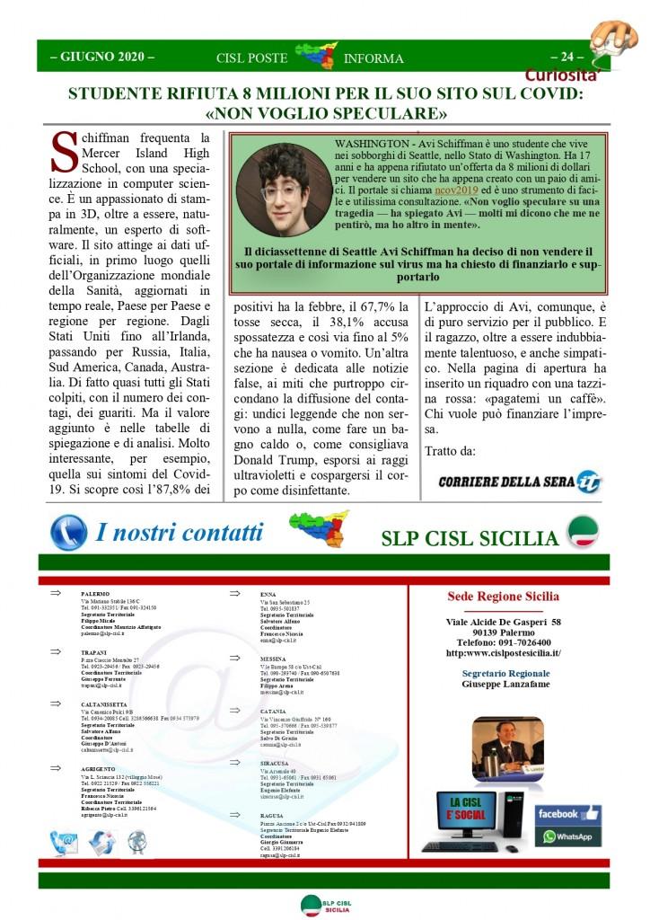 Cisl Poste Sicilia Informa Giugno 2020 _page-0024
