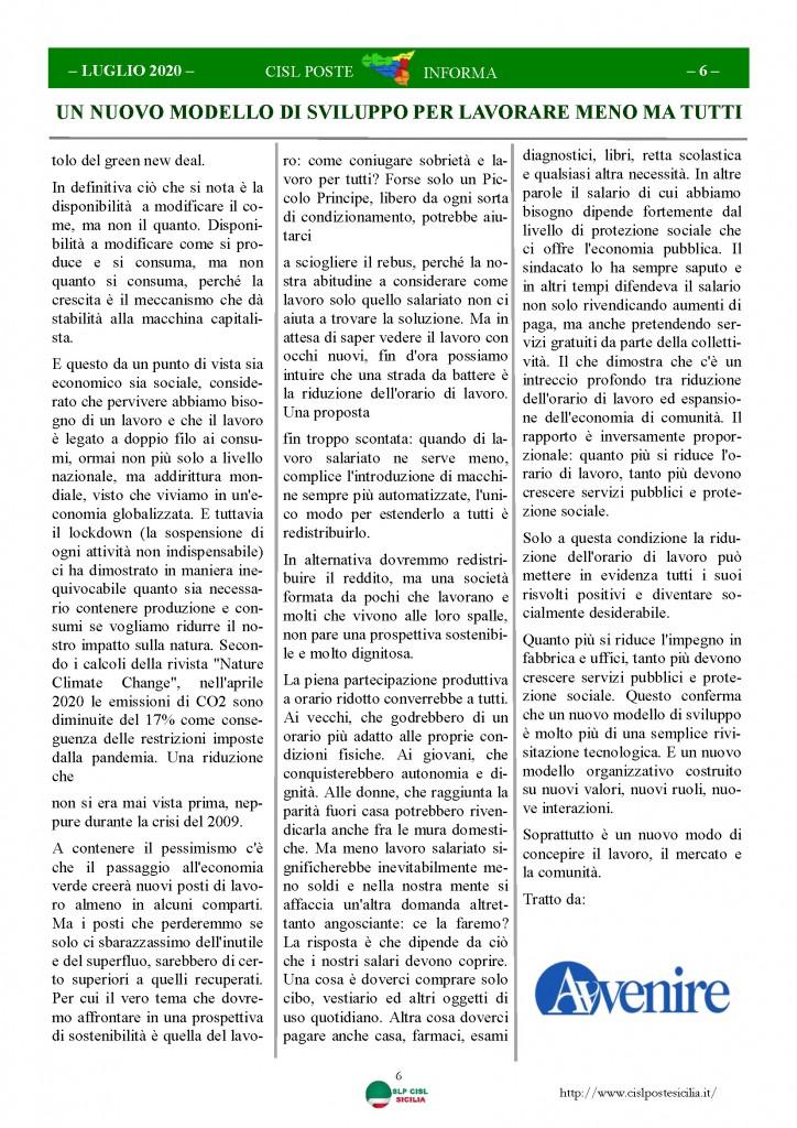 Cisl Poste Sicilia Informa Luglio 2020 _Pagina_06