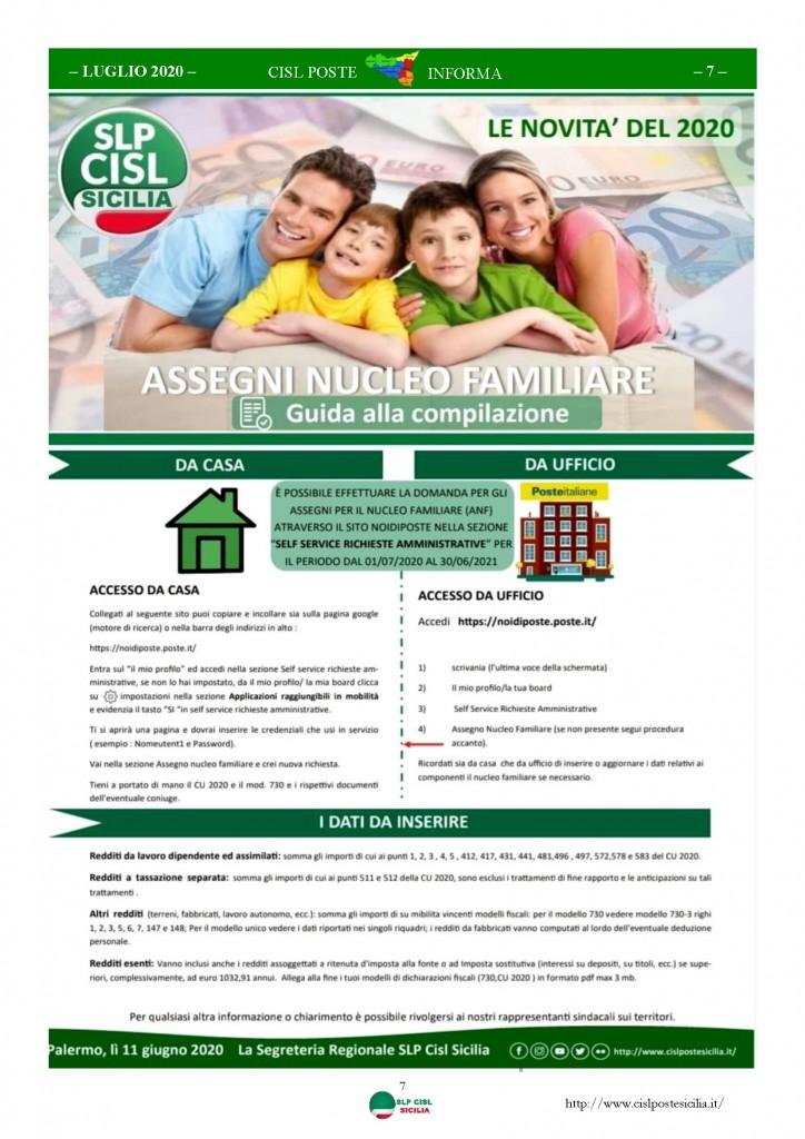 Cisl Poste Sicilia Informa Luglio 2020 _Pagina_07