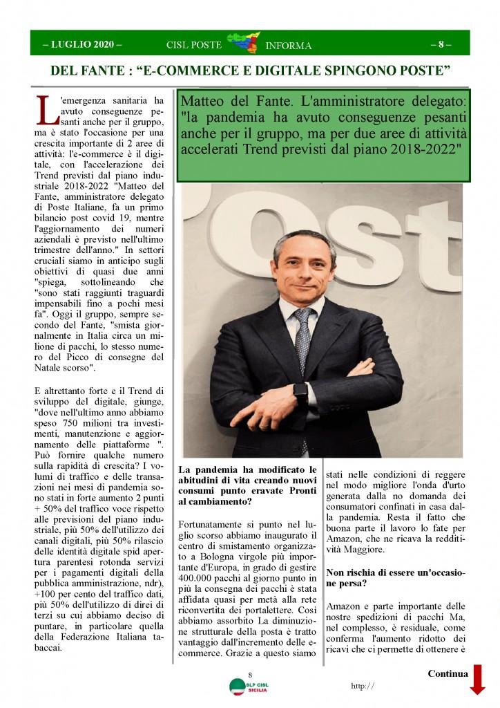 Cisl Poste Sicilia Informa Luglio 2020 _Pagina_08