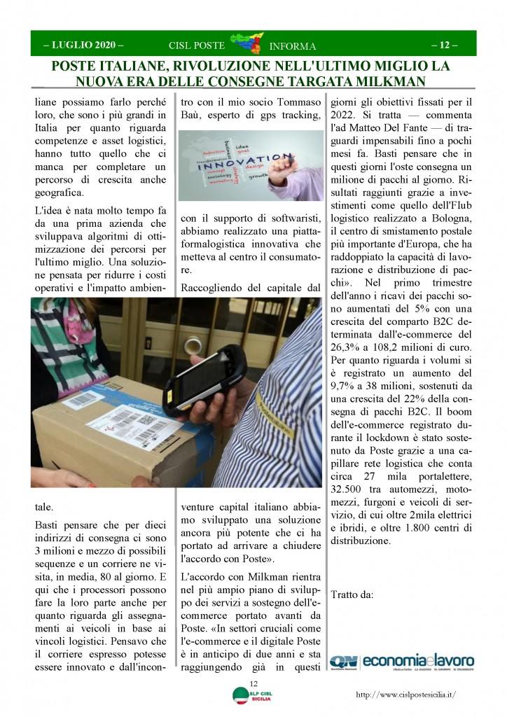 Cisl Poste Sicilia Informa Luglio 2020 _Pagina_12