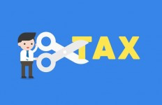 vector-businessman-holding-scissors-to-cut-tax-alphabet-cost-reduction-concept