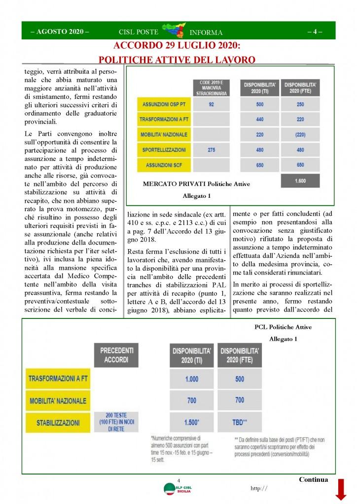 Cisl Poste Sicilia Informa Agosto 2020 _Pagina_04