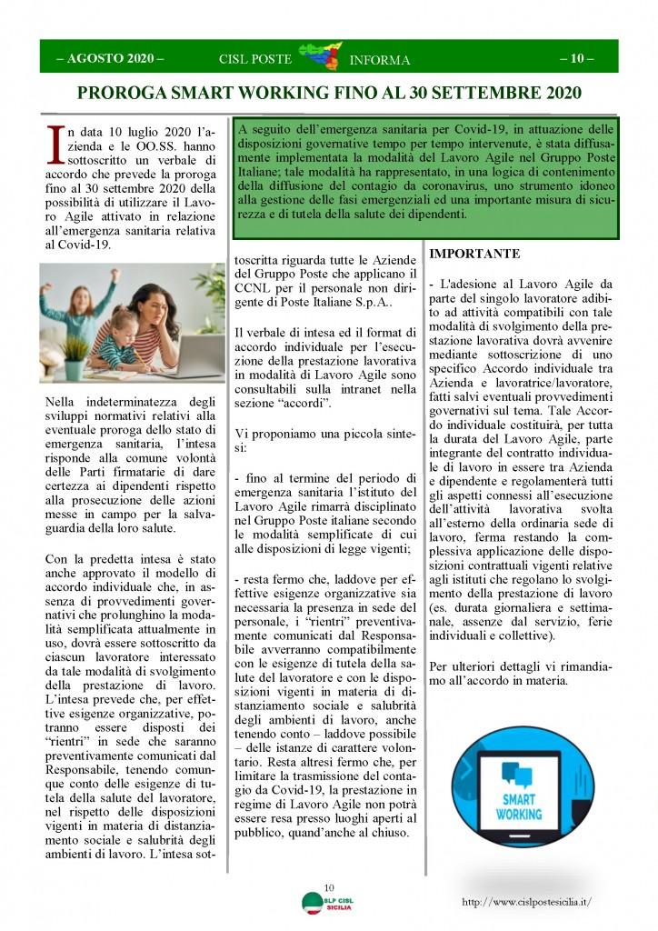 Cisl Poste Sicilia Informa Agosto 2020 _Pagina_10
