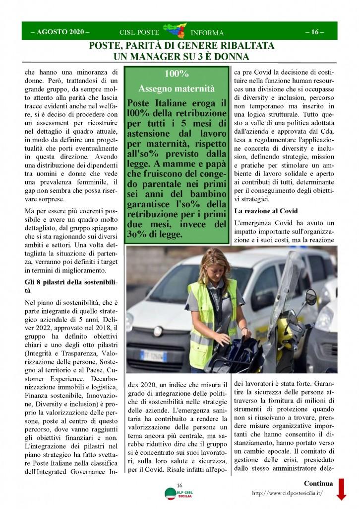 Cisl Poste Sicilia Informa Agosto 2020 _Pagina_16
