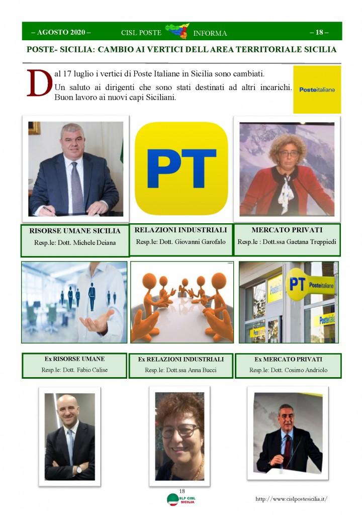 Cisl Poste Sicilia Informa Agosto 2020 _Pagina_18