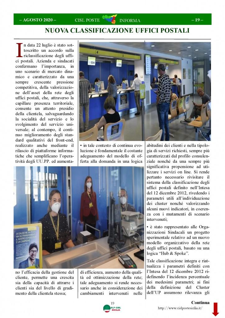 Cisl Poste Sicilia Informa Agosto 2020 _Pagina_19