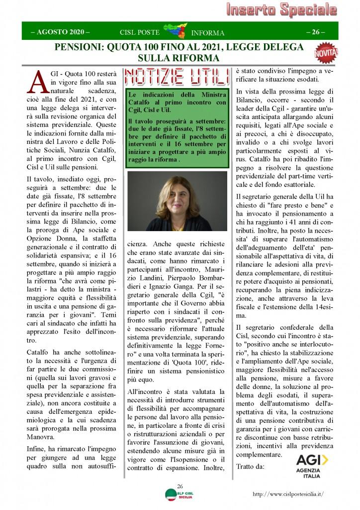 Cisl Poste Sicilia Informa Agosto 2020 _Pagina_26