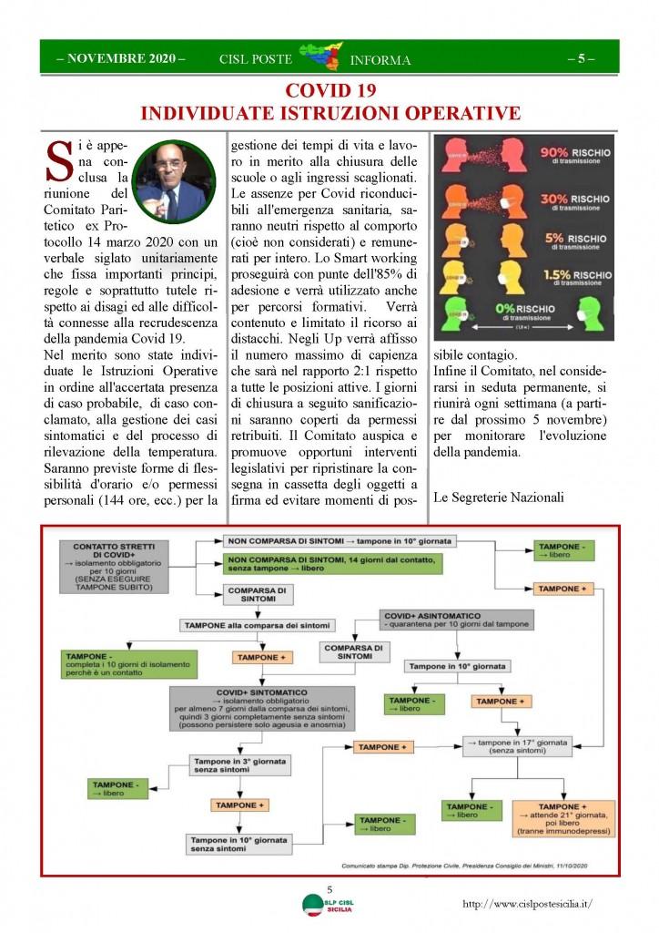 Cisl Poste Sicilia Informa Novembre 2020_Pagina_05