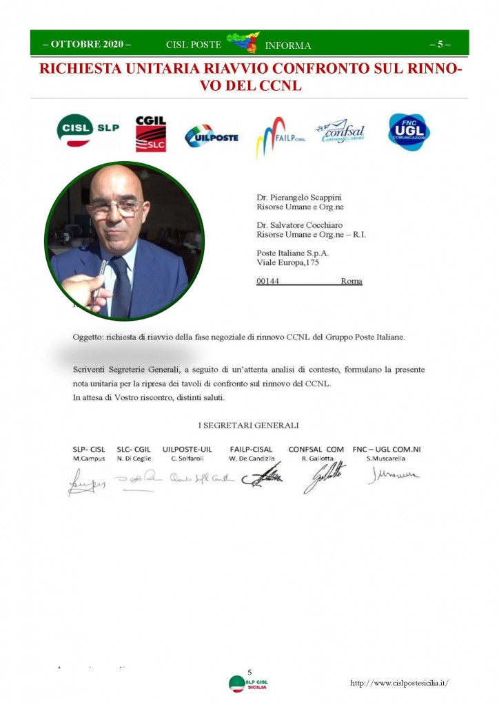Cisl Poste Sicilia Informa ottobre 2020 _Pagina_05