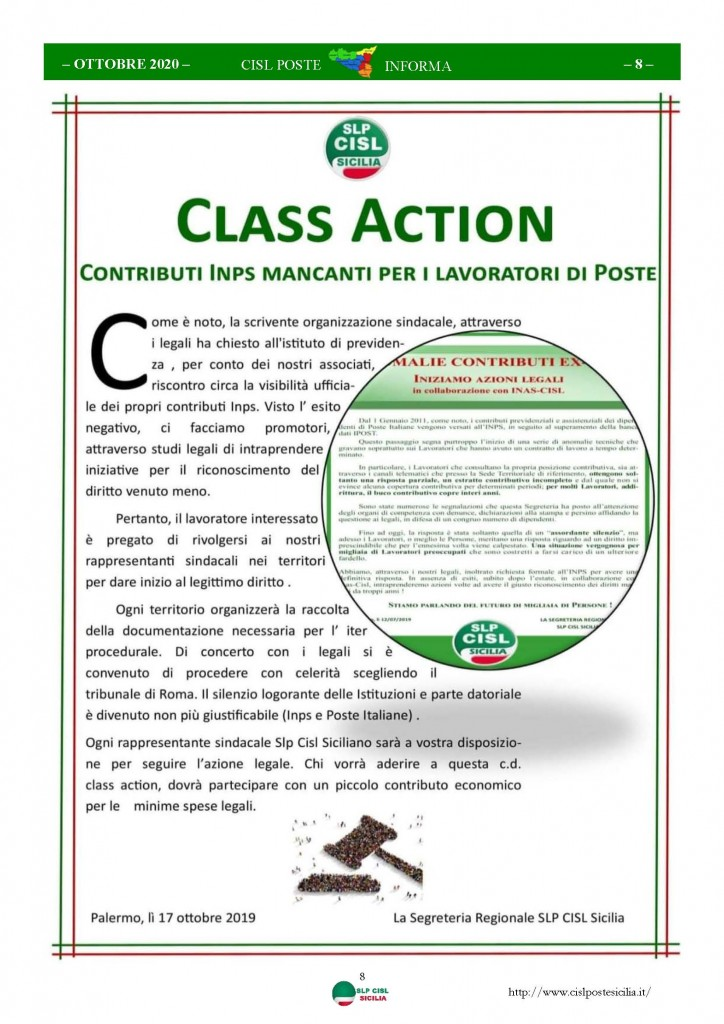 Cisl Poste Sicilia Informa ottobre 2020 _Pagina_08
