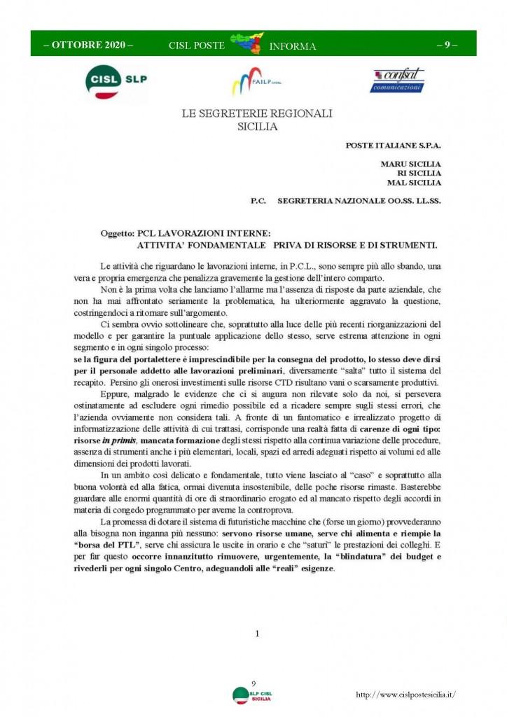 Cisl Poste Sicilia Informa ottobre 2020 _Pagina_09