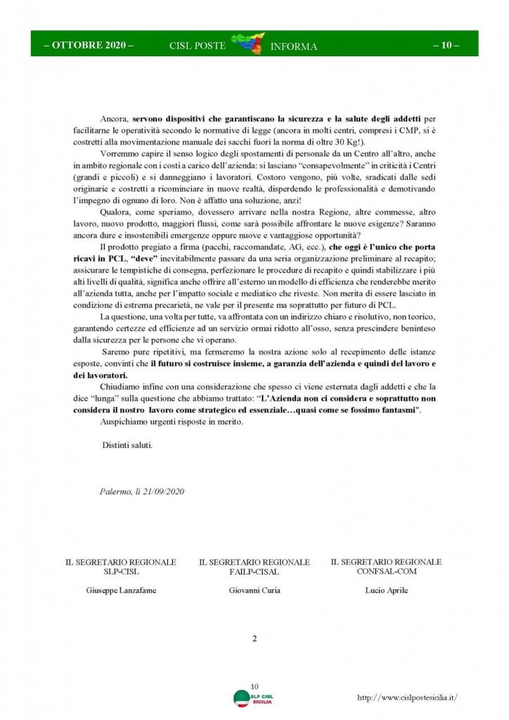 Cisl Poste Sicilia Informa ottobre 2020 _Pagina_10