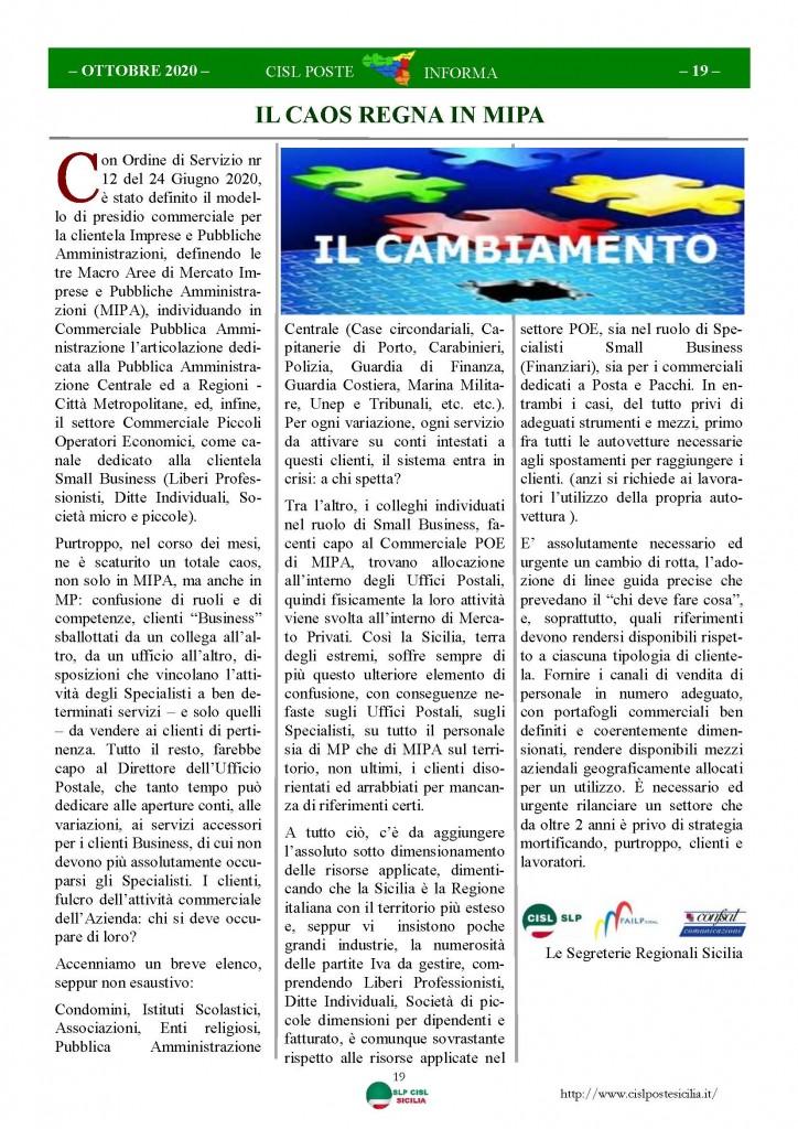 Cisl Poste Sicilia Informa ottobre 2020 _Pagina_19