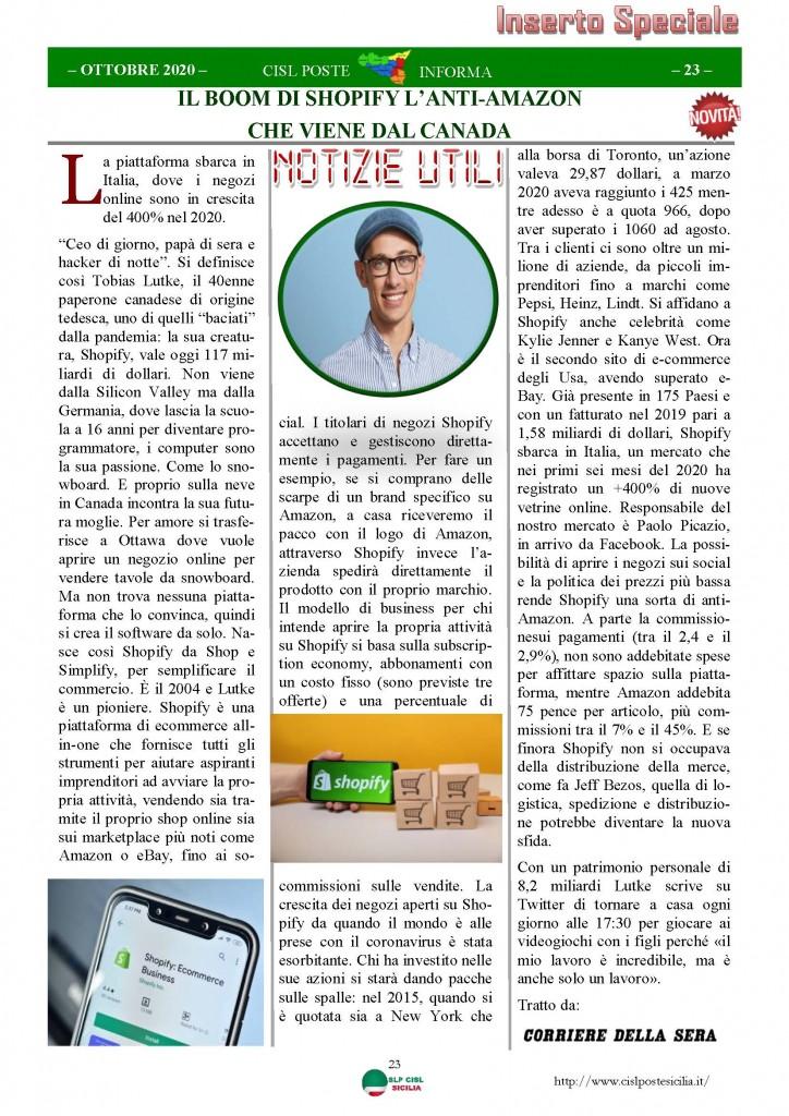 Cisl Poste Sicilia Informa ottobre 2020 _Pagina_23