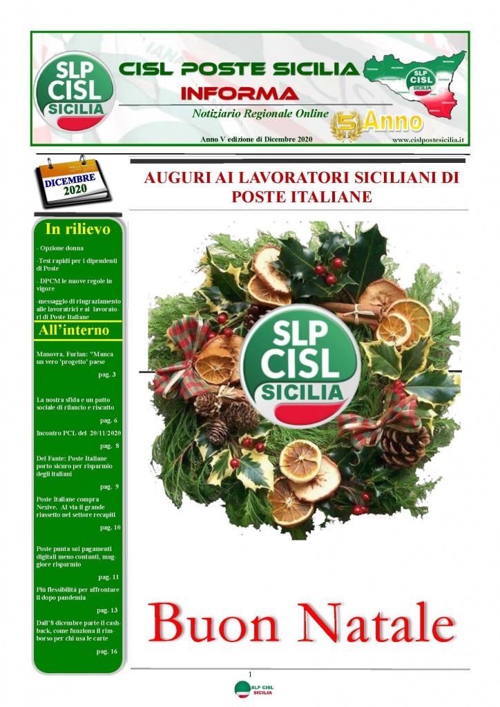 Cisl Poste Sicilia Informa Dicembrex 2020_Pagina_01